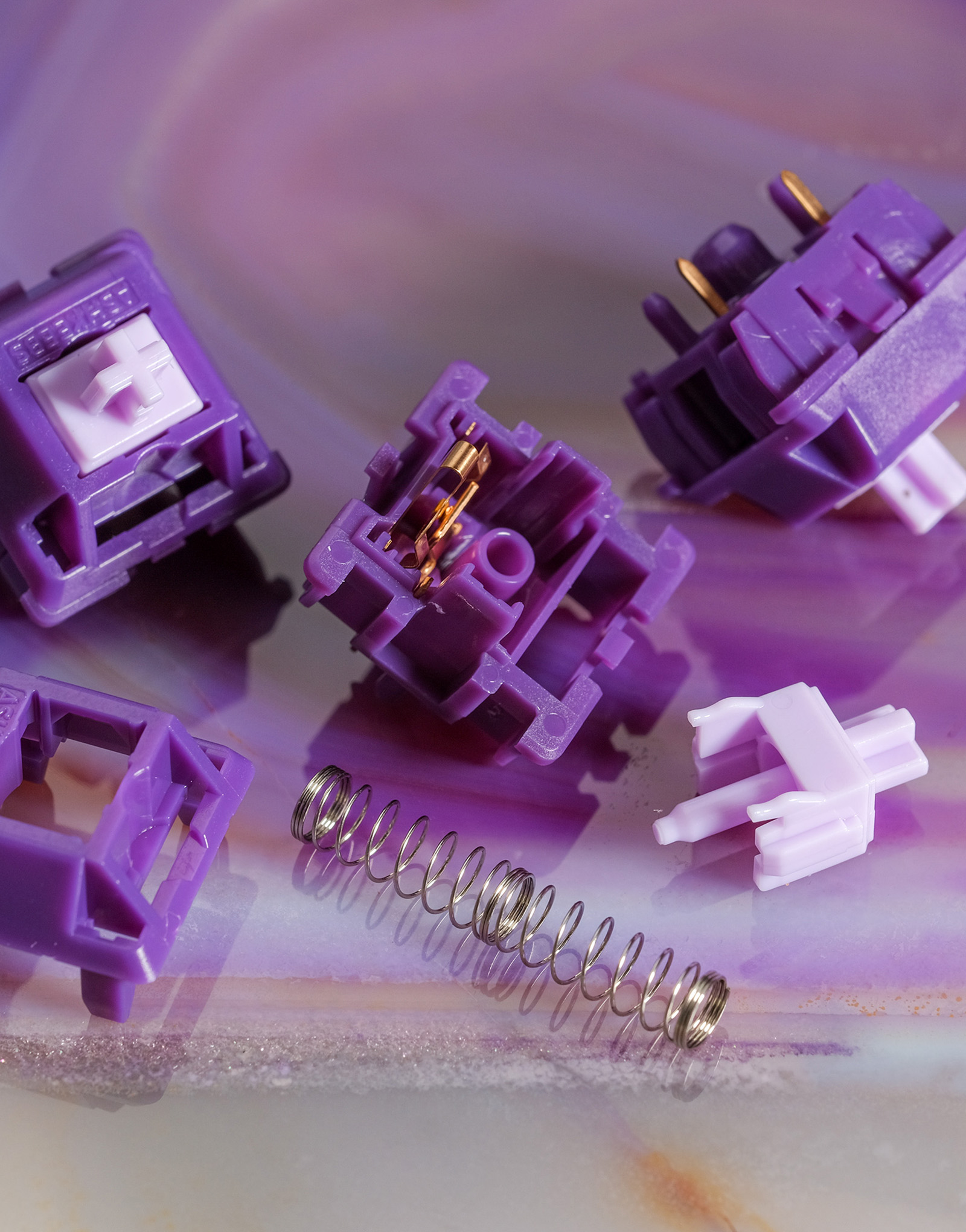 Amethyst Tactile Switches