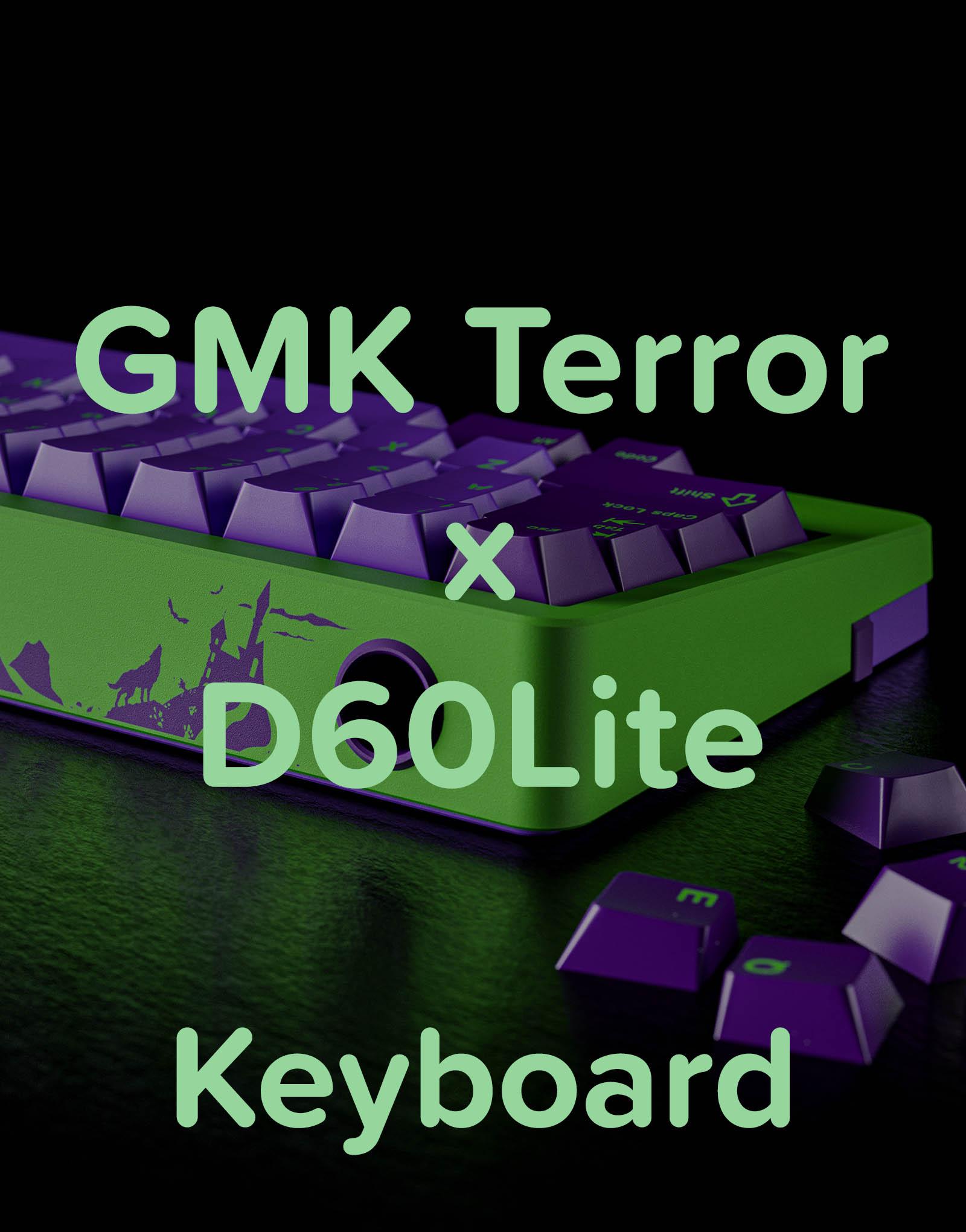 GMK Terror x D60Lite Keyboard - Product Image